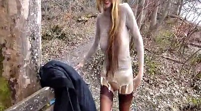 Gaping pussy, Outdoor fisting