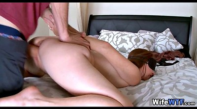 Milf, Blindfold, Blindfolded wife