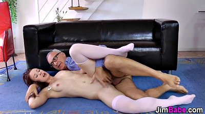 Stockings, Stocking, Stockings handjob, British amateur, Stocking handjob