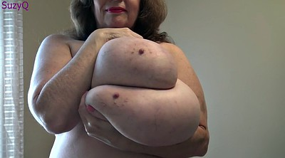 Bbw mature, Shaking, Shake, Boobs bbw