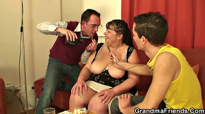Boy, Granny and boy, Bbw mature