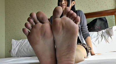 Asian young, Asian feet, Young foot