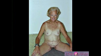 Mature, Old, Homemade granny