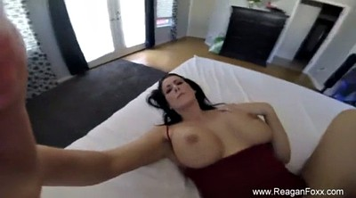 Mom, Birthday, Mom handjob, Massage mom