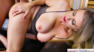 Julia ann, Mature and son