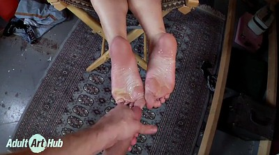 Foot lick, Feet lick, Ass worship, Sweaty, Lucky man, Lick man foot