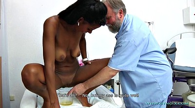Gyno, Exam, Ebony anal, Gyno exam, Black granny, Anal exam