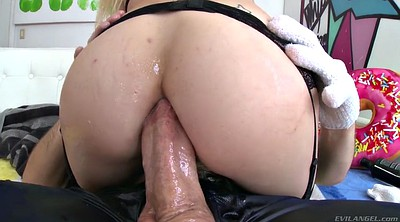 Teen anal, Mike, Oiled anal
