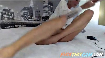 Solo ass, Solo big ass, Skinny blonde, Anal dildo