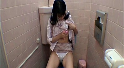 Japanese office, Asian office, Japanese office lady, Office lady, Restroom, Japanese t