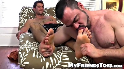 Foot worship, Solo feet, Muscle solo, Hairy solo
