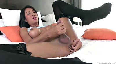 Cartoon, Asian solo, Bust, Beautiful solo, Asian shemale