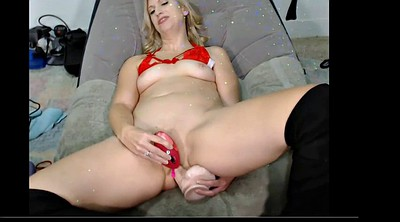 Cum in ass, Milf dildo