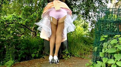 Summer, Dressing, Nylon stocking, Farm