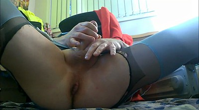 Pantyhose, Fingers solo hd