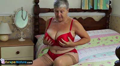 Mature solo, Grandma, Seduction, Granny solo