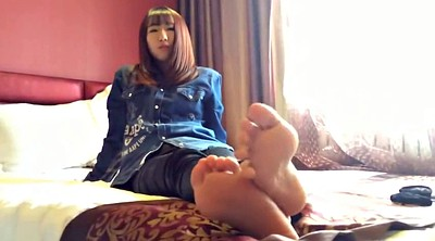 Feet, Asian feet, Asian foot, Nylon feet, Asian nylon