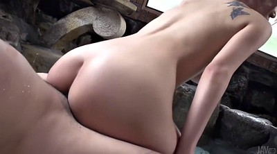 Japness, Hairy creampie, Japanese busty, Hairy busty