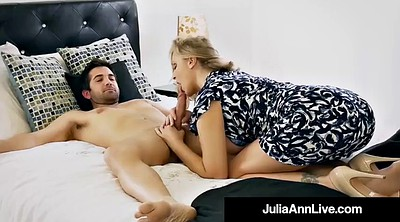 Julia ann, Mother, Mother son, Mature public, Step son, Step mother