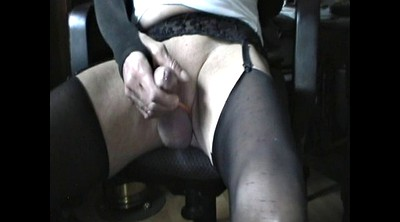 Stock, Stockings masturbation