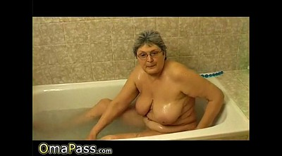 Mature solo, Granny solo, Bathroom, Solo compilation, Hairy masturbate