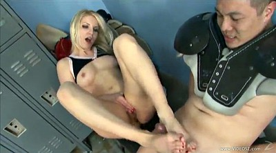 Footjob, Ashley fires