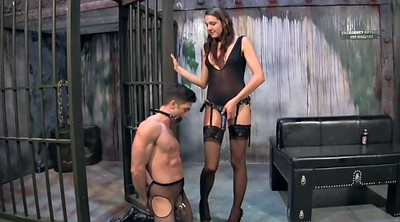 Peg, Pegging, Chastity, Strapon pegging