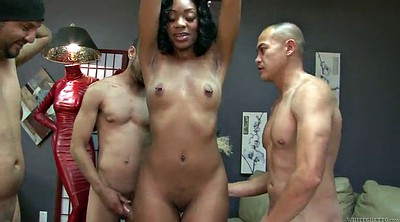 Interracial gangbang, Vixen, Ebony gangbang, Black gang bang, Black gang