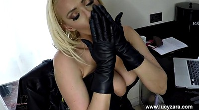 Glove, Gloves, Boot, Milf boots, Latex masturbation, Ebony panties