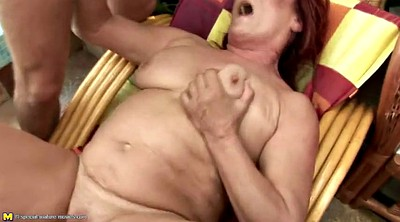 Mature gangbang, Granny group, Golden shower