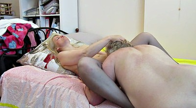 Eating pussy, Russian milf