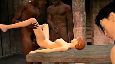 Interracial cuckold, Cartoon