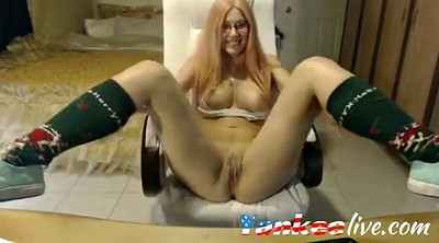 Solo girl, Big tits webcam, Show pussy