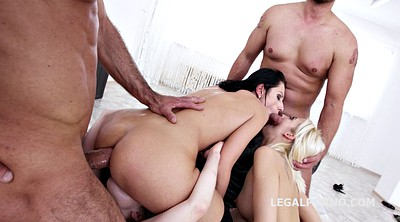 Gangbang, Interracial big cock, Big black cock