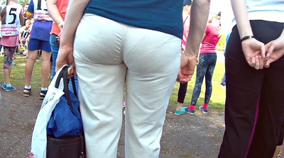 White, Milf big ass, Pants, White mature