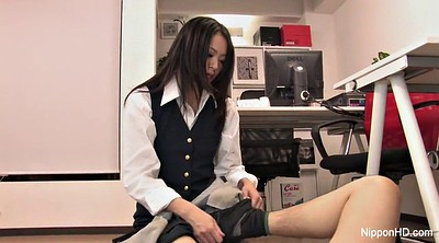 Japanese office, Japanese foot, Asian foot, Japanese feet, Asian feet, Japanese secretary