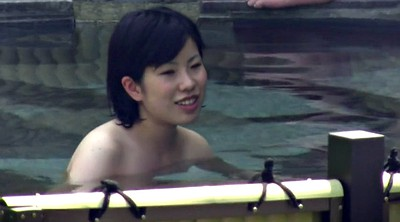 Japanese young, Spa, Japanese voyeur
