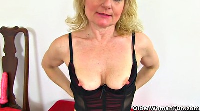 Black granny, Black mature, English milf, English mature, English