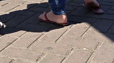 Street, Outdoor, Sole, Candid foot, Candid feet