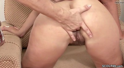 Young boy, Step mom, Hairy milf