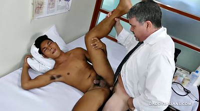 Asian boy, Old gay, Gay doctor, Daddy gay, Old doctor, Gay old