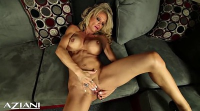 Muscle, Fitness, Clit, Muscled milf