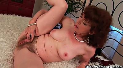 Hairy mature, Hairy granny, Wife boy