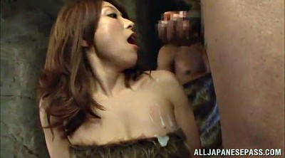 Cum in mouth, Asian black
