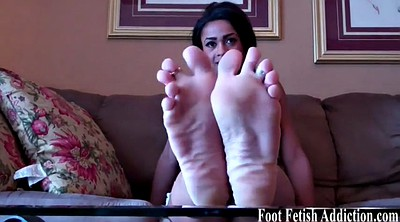 Femdom, Licking foot, Toes