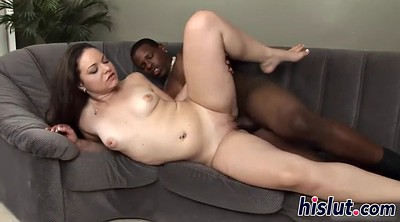 Huge tits, Interracial creampie, Huge creampie