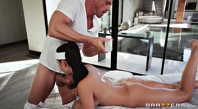 Oil massage, Table, Ariana marie
