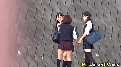 Japanese pee, Voyeur japanese, Peeing outdoor
