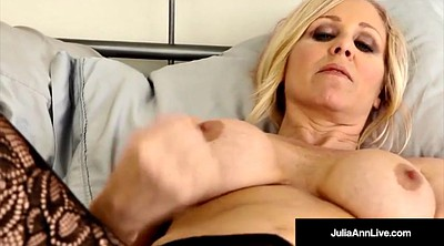 Julia ann, Pantyhose masturbation, Ann julia