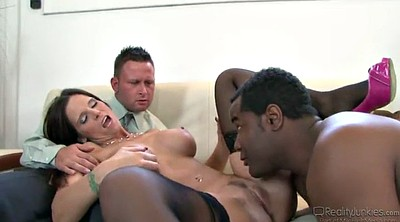 Cuckold, Interracial mature creampie, Mature interracial